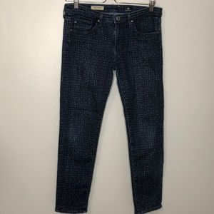 AG Adriano Goldschmeid Stevie Ankle Jeans Dot 29